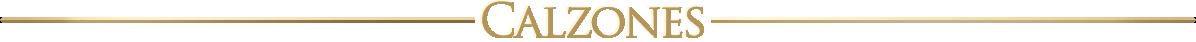 calzones typeface graphic