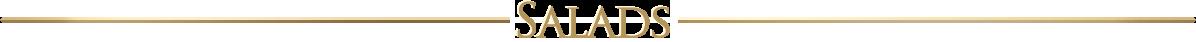 salads typeface graphic