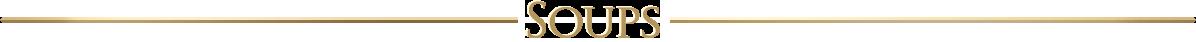 soups typeface graphic